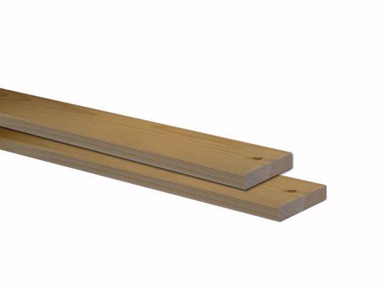 Afbeelding van Vuren plank geschaafd 22x100 mm