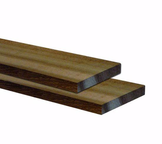 Afbeelding van Western Red Cedar - STK 3 zijden geschaafd, 1 zijde fijnbezaagd 18x190 mm - op aanvraag