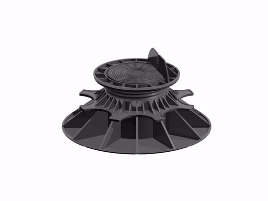 Afbeelding van Vloerdragers PVC - zwart