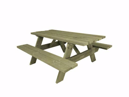 Afbeelding van Picknicktafel Het Anker - vuren verduurzaamd